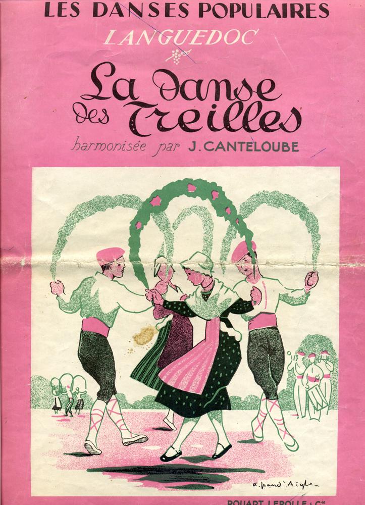 La danse des Treilles de Gabriel Picarel et Joseph Canteloube
