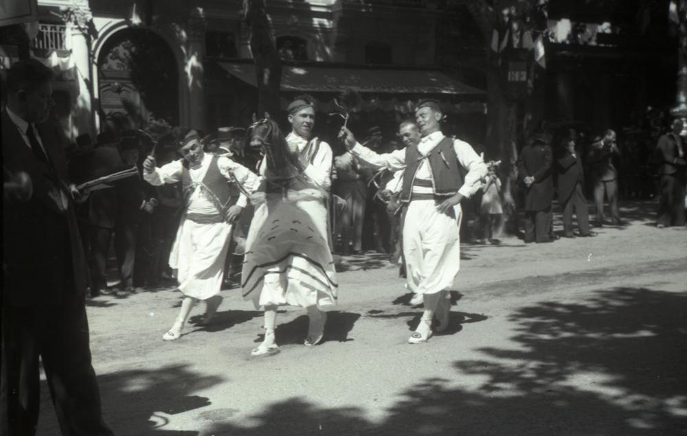 Le Chevalet de Mèze à Béziers en 1939