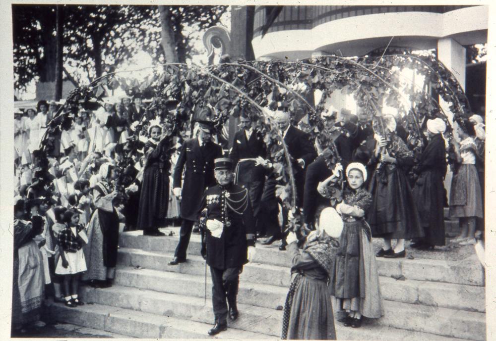 Les Treilles en l'honneur du Président Albert Lebrun en juillet 1939