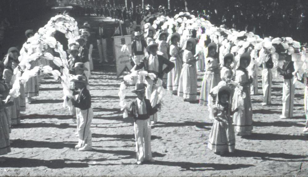 Les Treilleurs de Picarel lors de la Santo Estello de Béziers